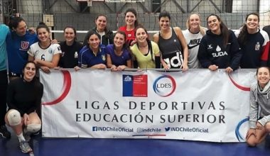 Alumna UAI representa a Chile en Panamericano de Voleibol