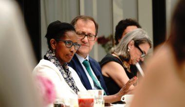 Ayaan Hirsi en la UAI