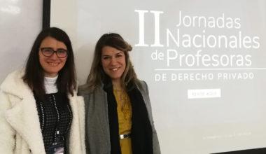Académicas UAI participan en II Jornadas Nacionales de Profesoras de Derecho Privado