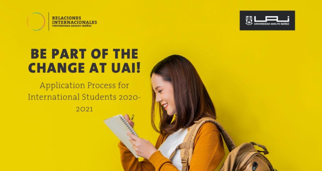 International Students Application Process 2020-2021