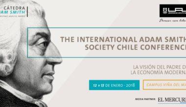 Más de 50 expositores participarán de la 1ª Conferencia Hispanoamericana sobre Adam Smith